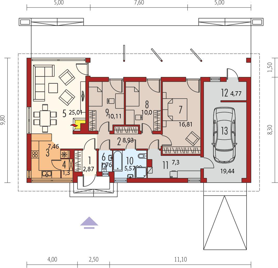 Планировка проекта 4-1102