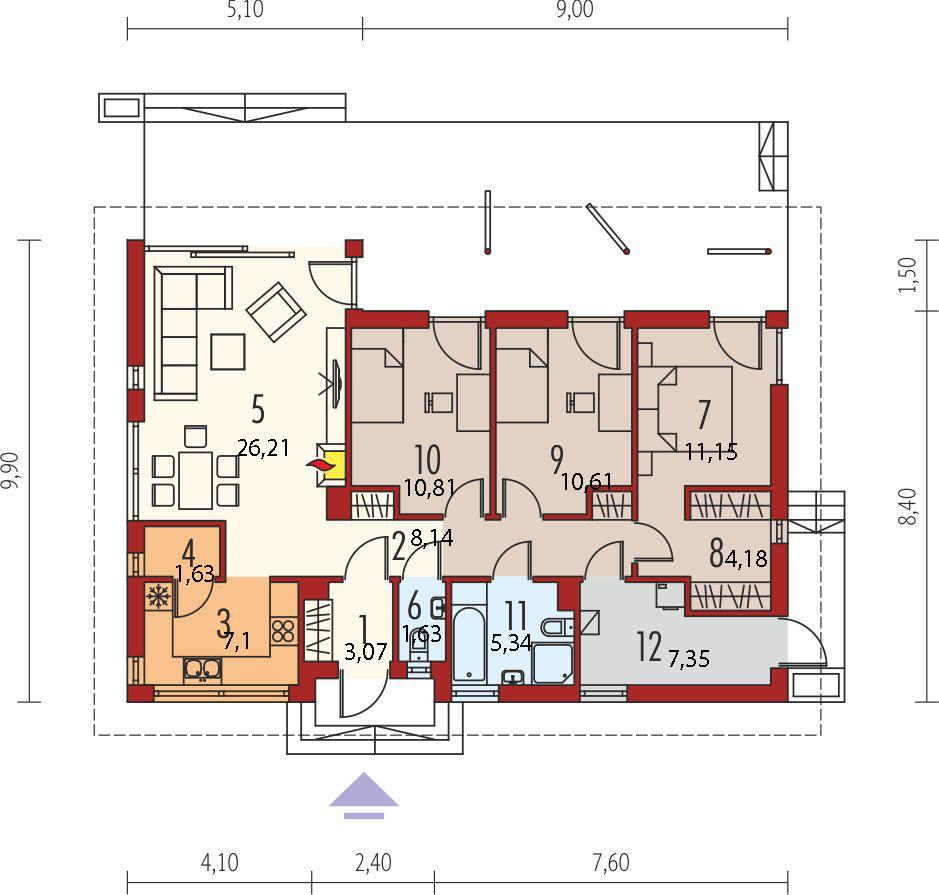 Планировка проекта 4-1103