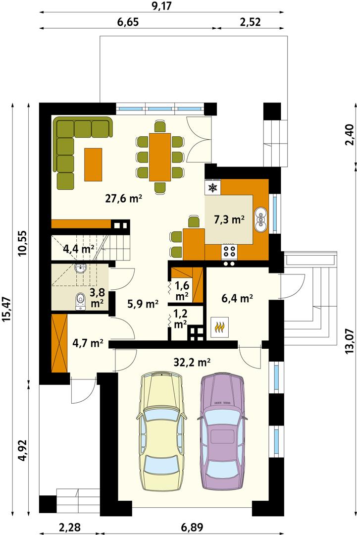 Планировка проекта 4-152