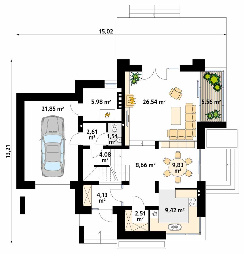 Планировка проекта 4-1520