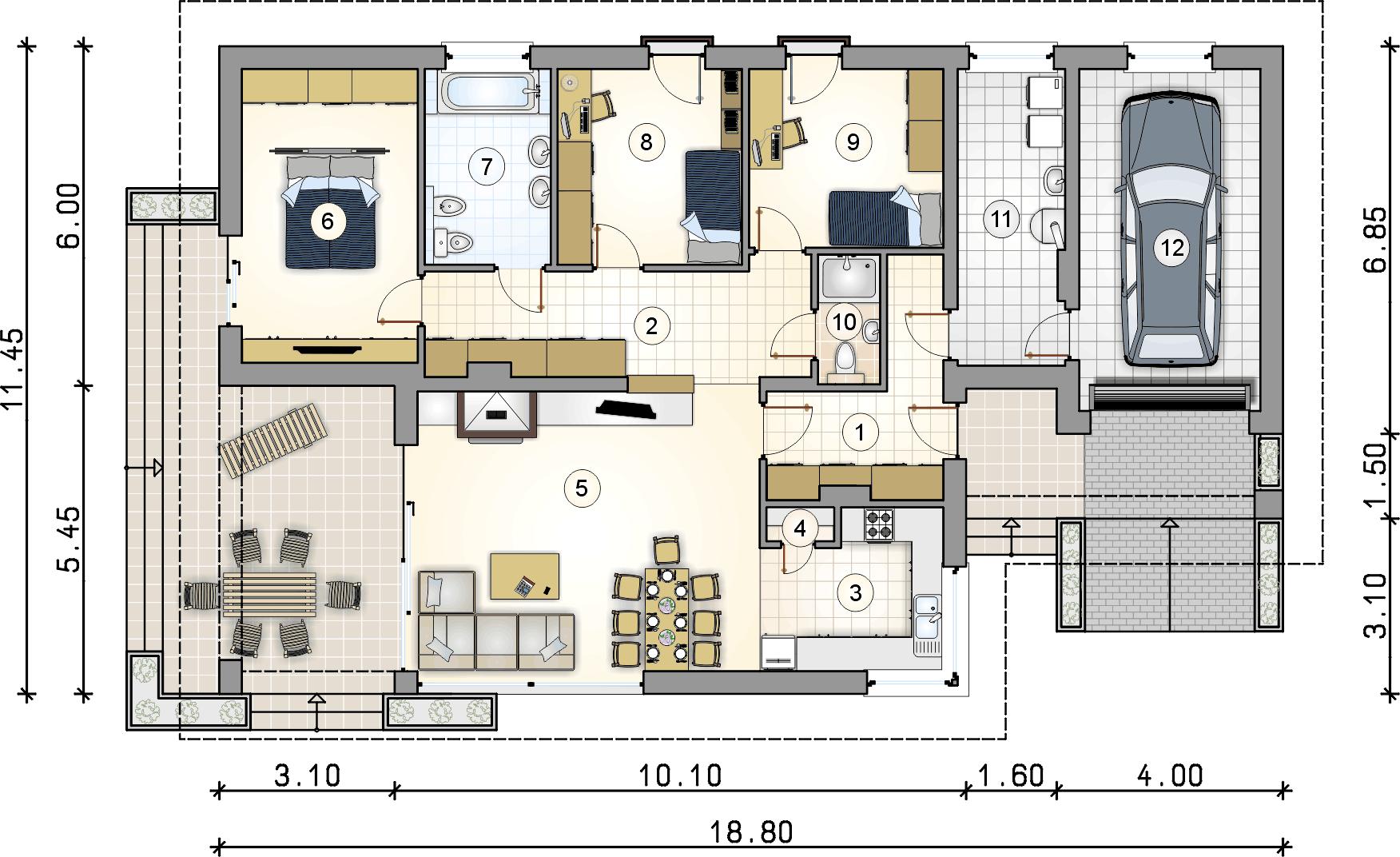 Планировка проекта 4-1711