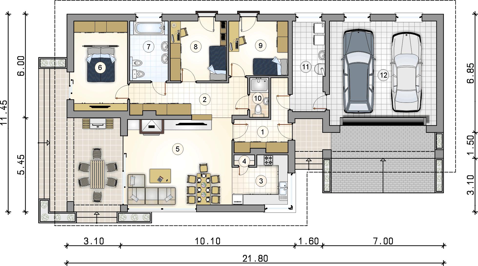 Планировка проекта 4-1713
