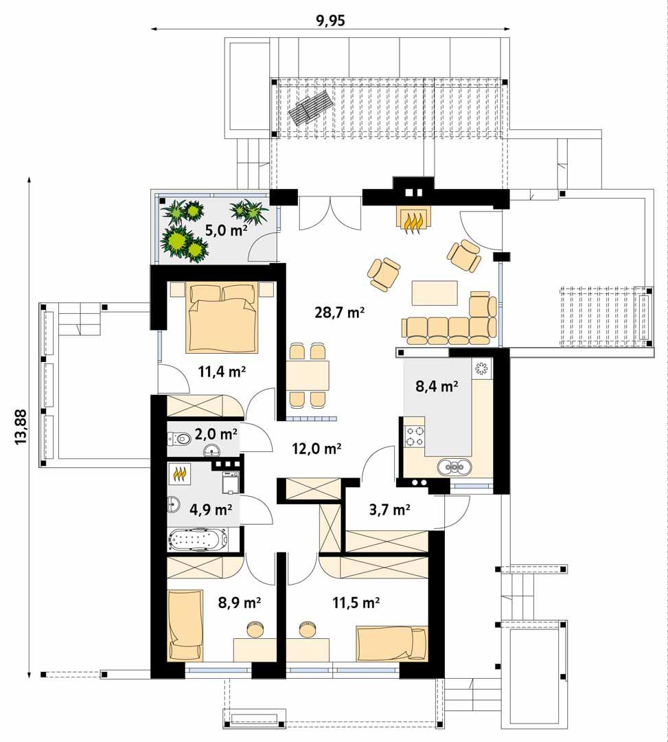 Планировка проекта 4-1736
