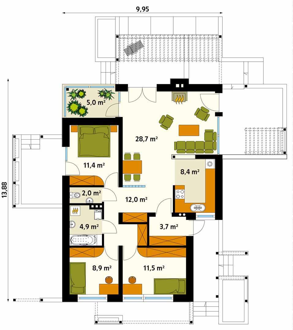 Планировка проекта 4-1743