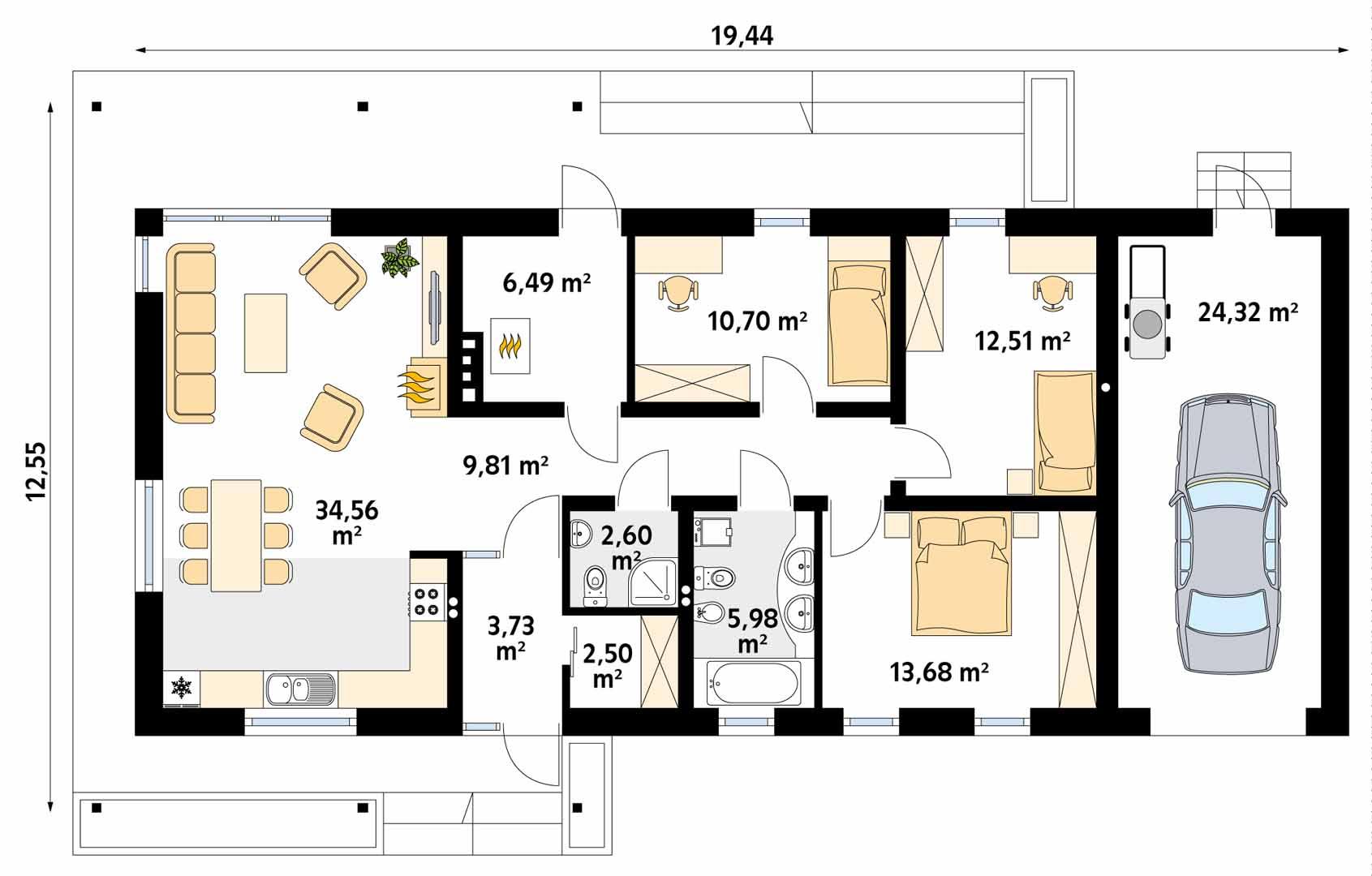 Планировка проекта 4-1852