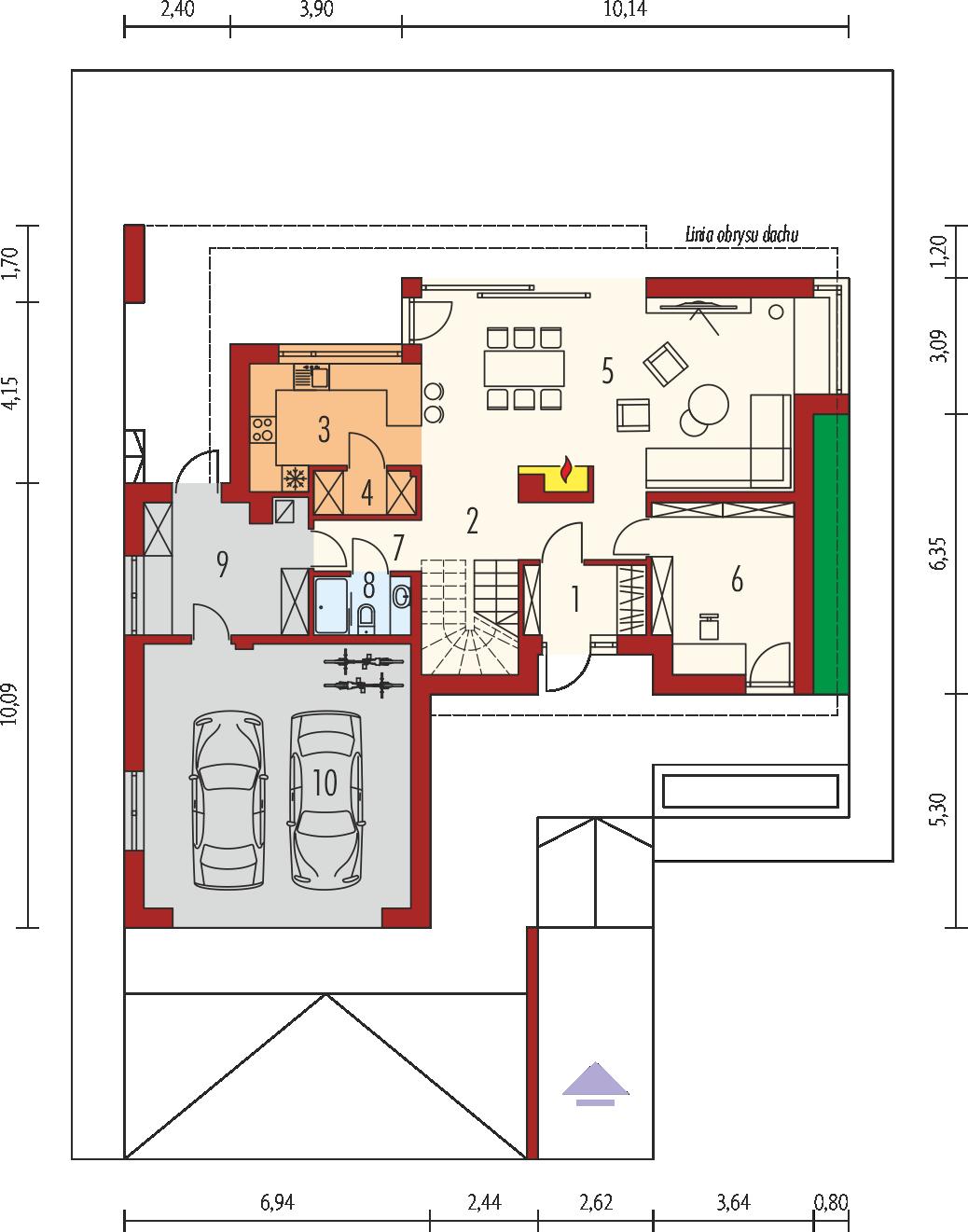 Планировка проекта 4-1869