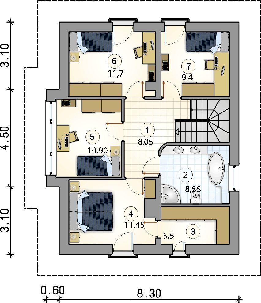 Планировка проекта 4-1960
