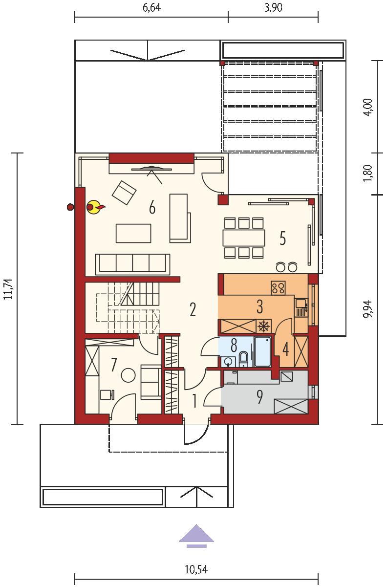 Планировка проекта 4-1968