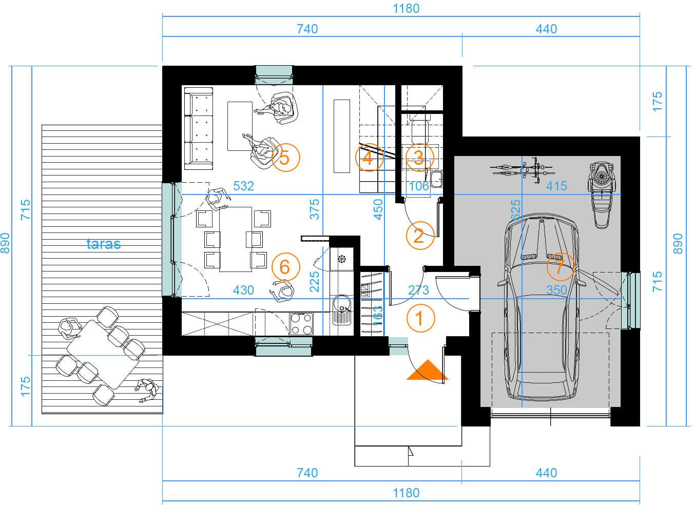 Планировка проекта 4-2308