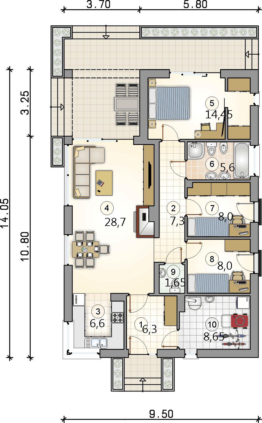 Планировка проекта 4-2367