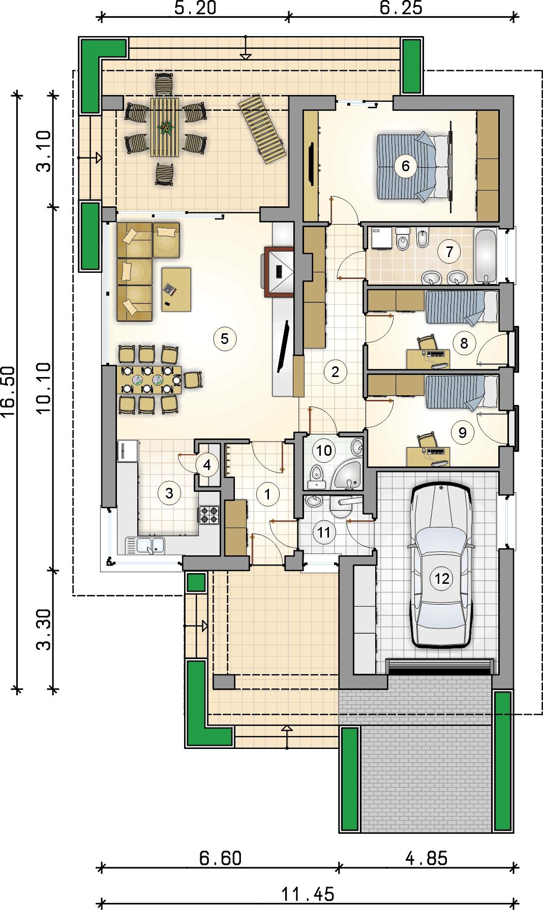 Планировка проекта 4-2391