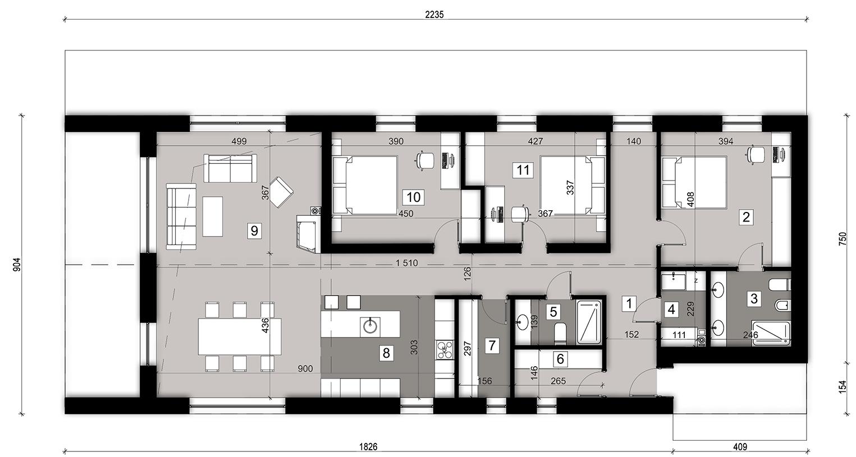 Планировка проекта 4-2421
