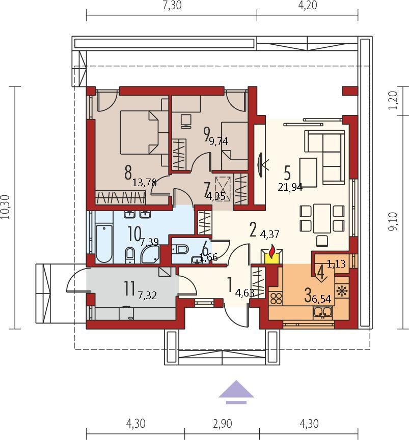 Планировка проекта 4-2460