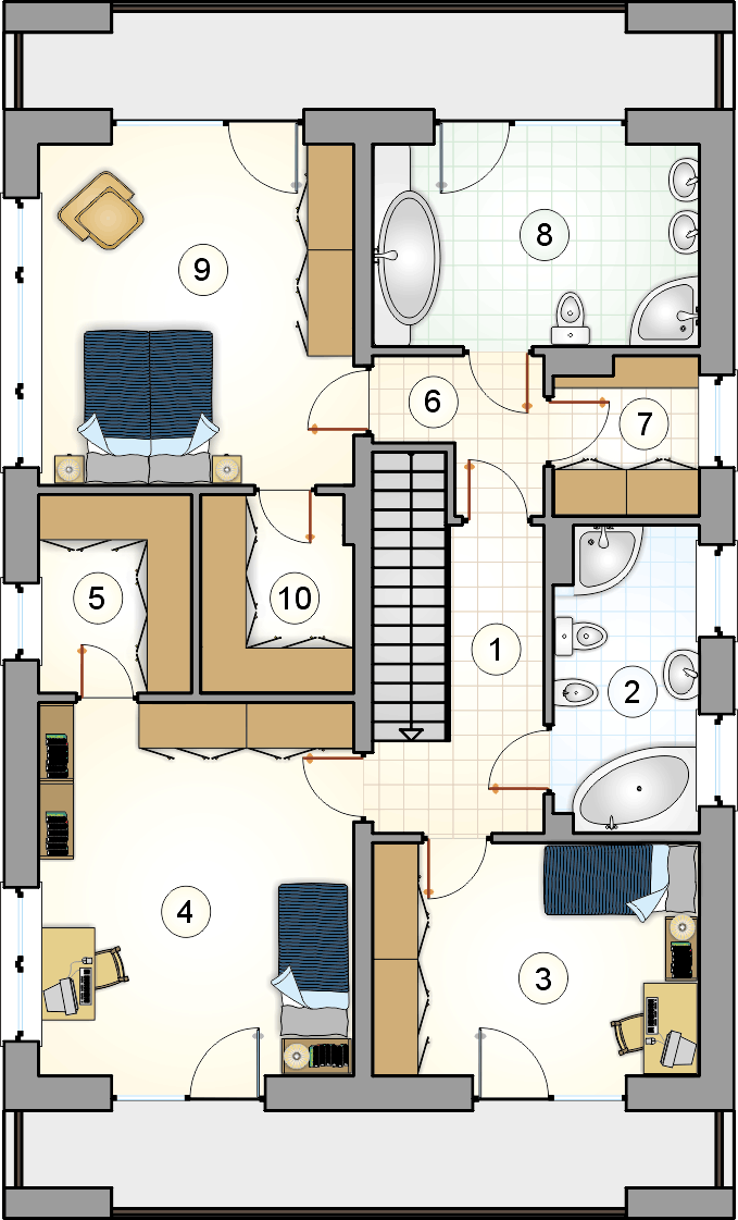 Планировка проекта 4-2462