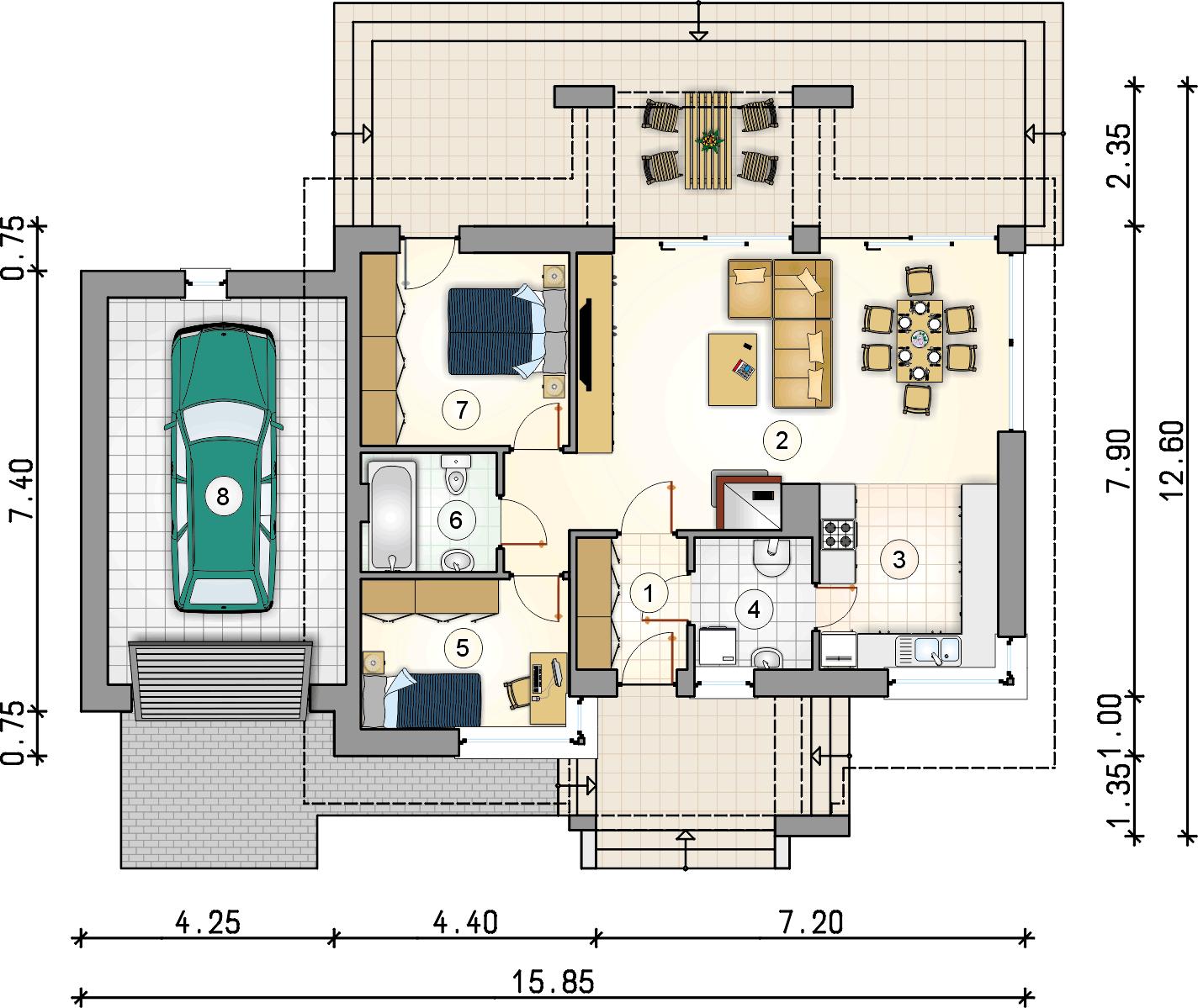 Планировка проекта 4-2474