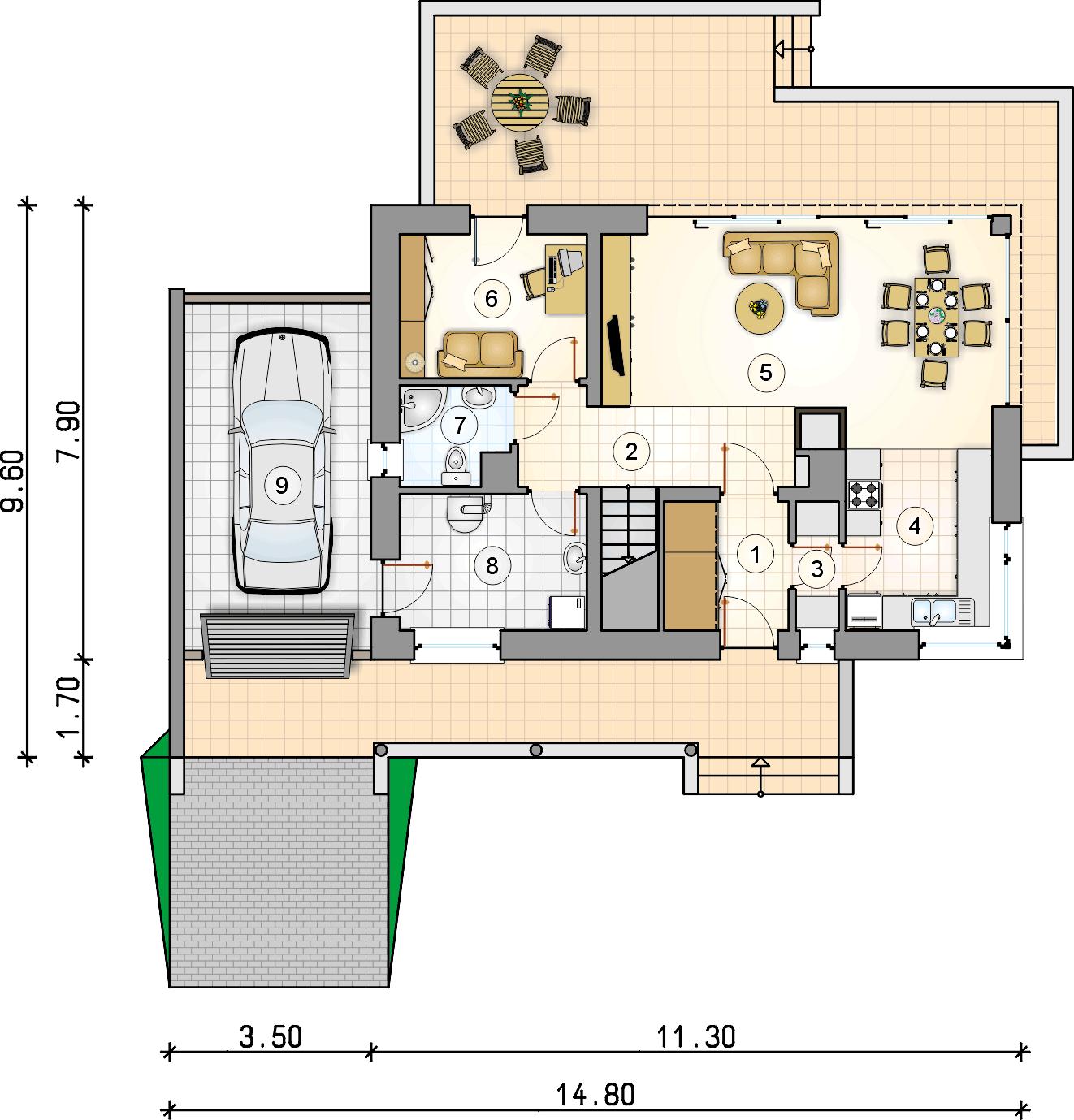 Планировка проекта 4-2550