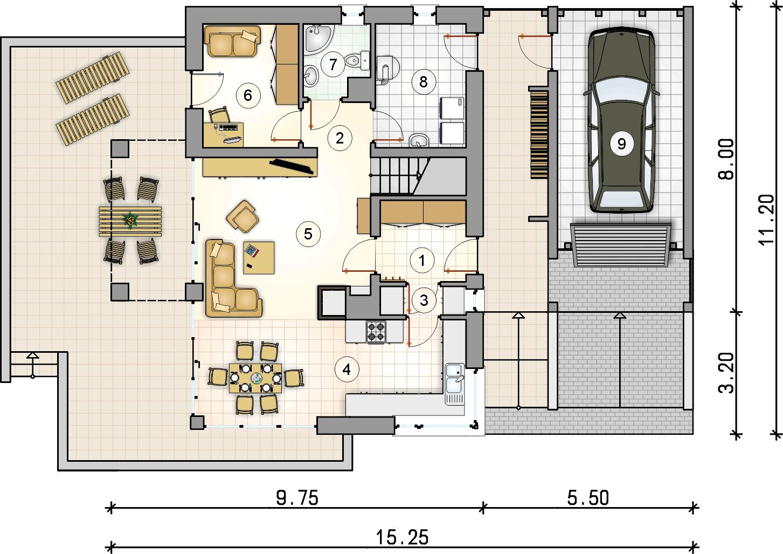 Планировка проекта 4-2552