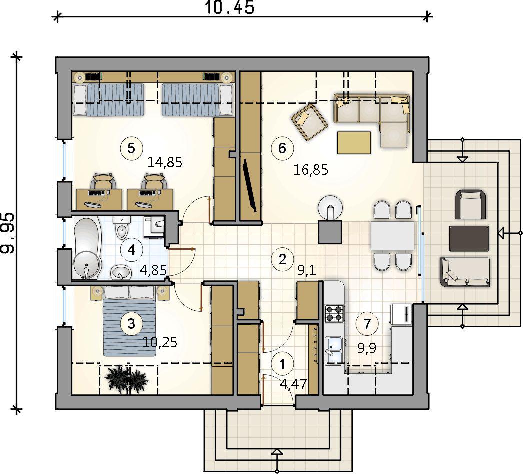 Планировка проекта 4-2691