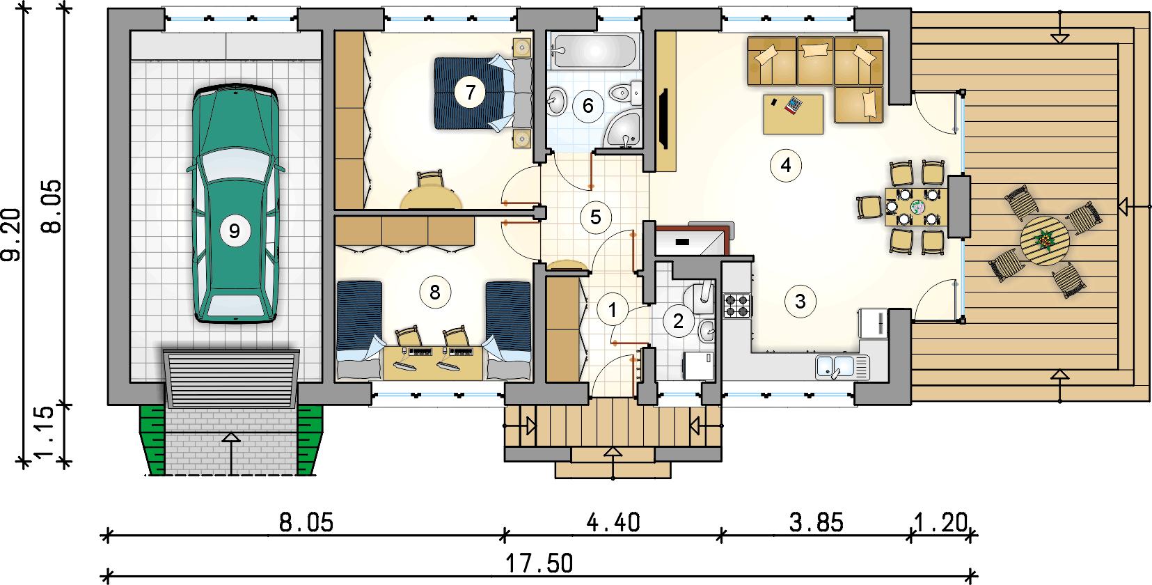 Планировка проекта 4-2909