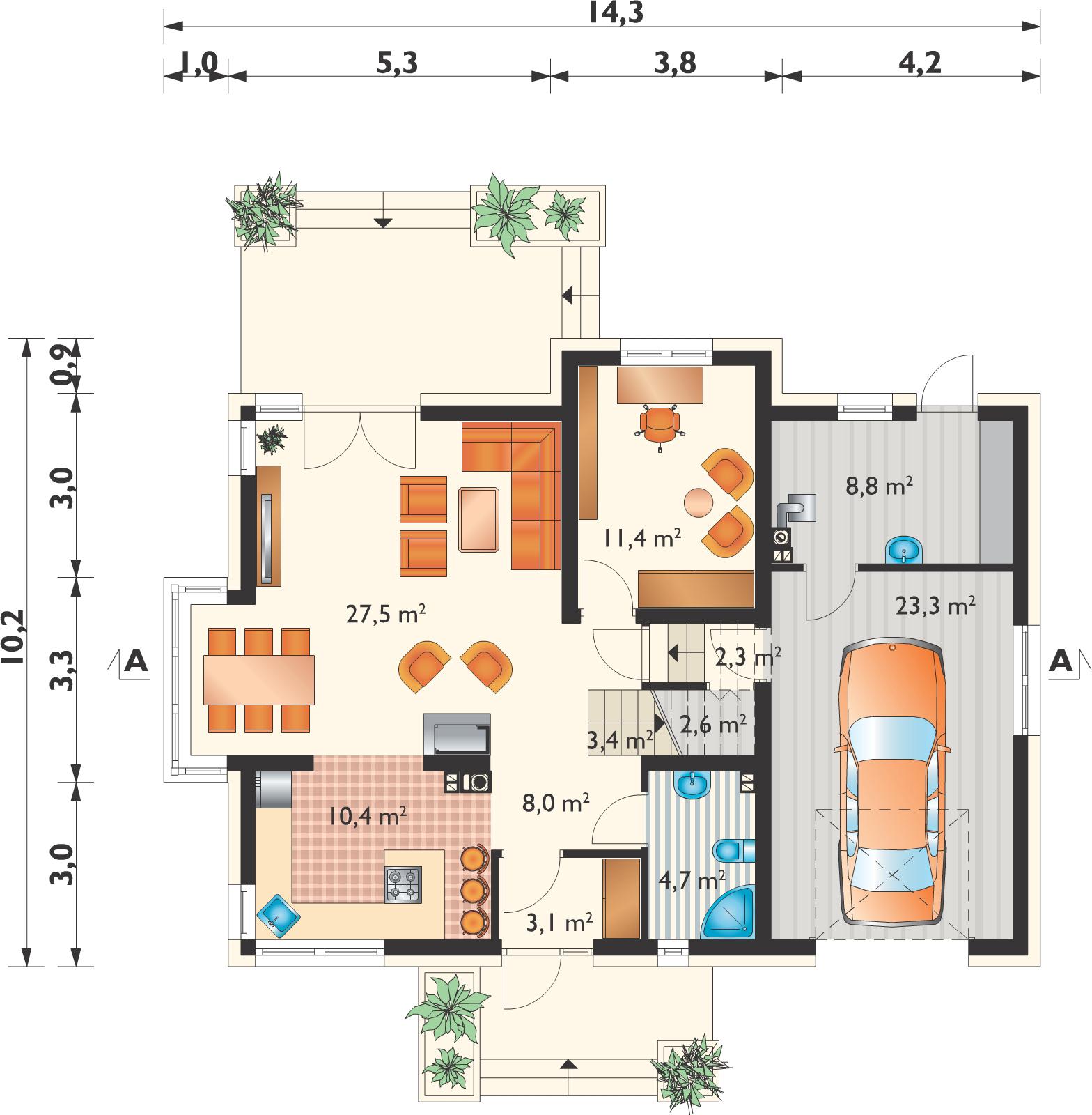 Планировка проекта 4-3015