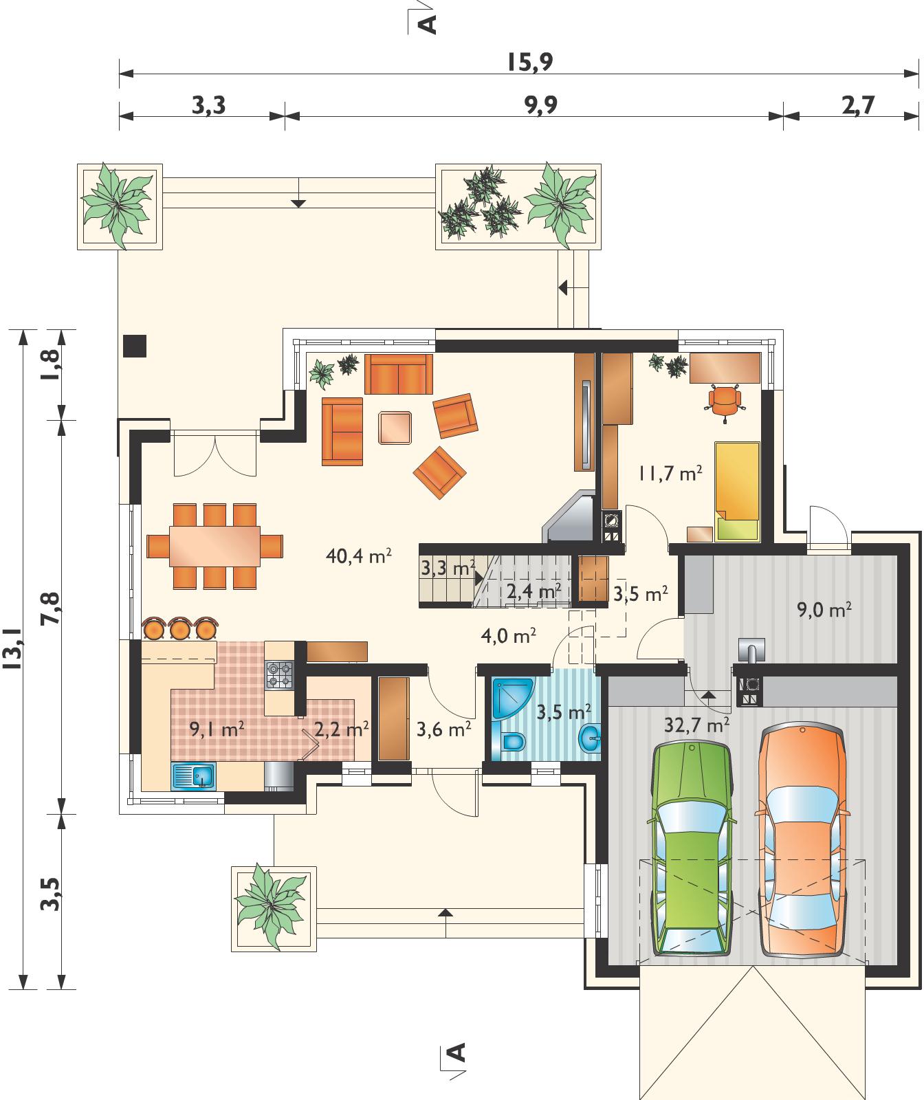 Планировка проекта 4-3017