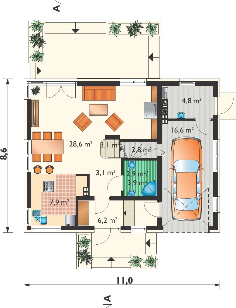 Планировка проекта 4-3027