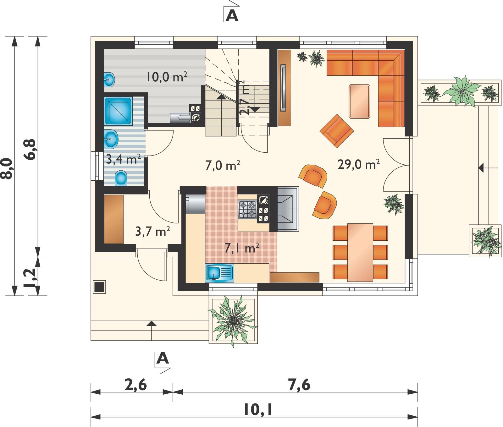 Планировка проекта 4-431