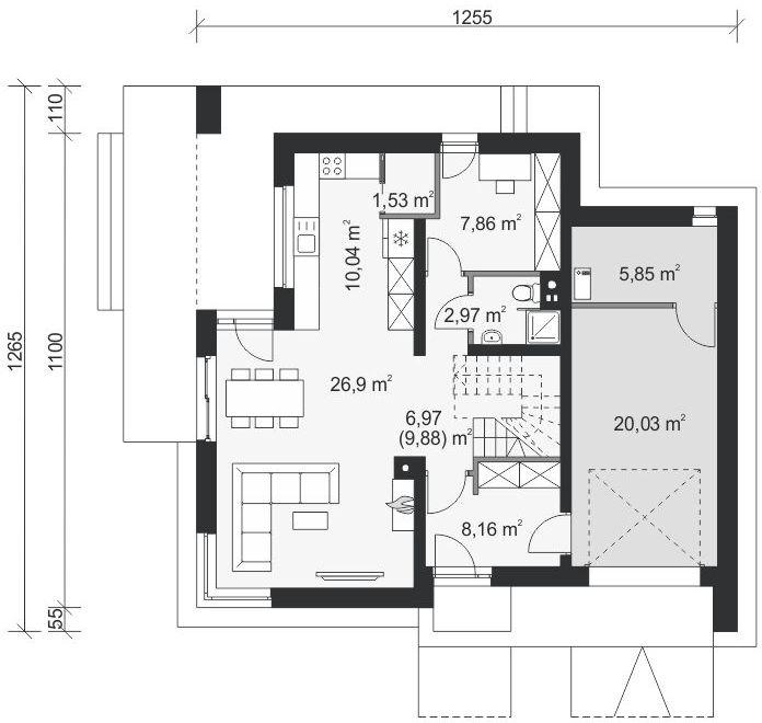 Планировка проекта 4-822