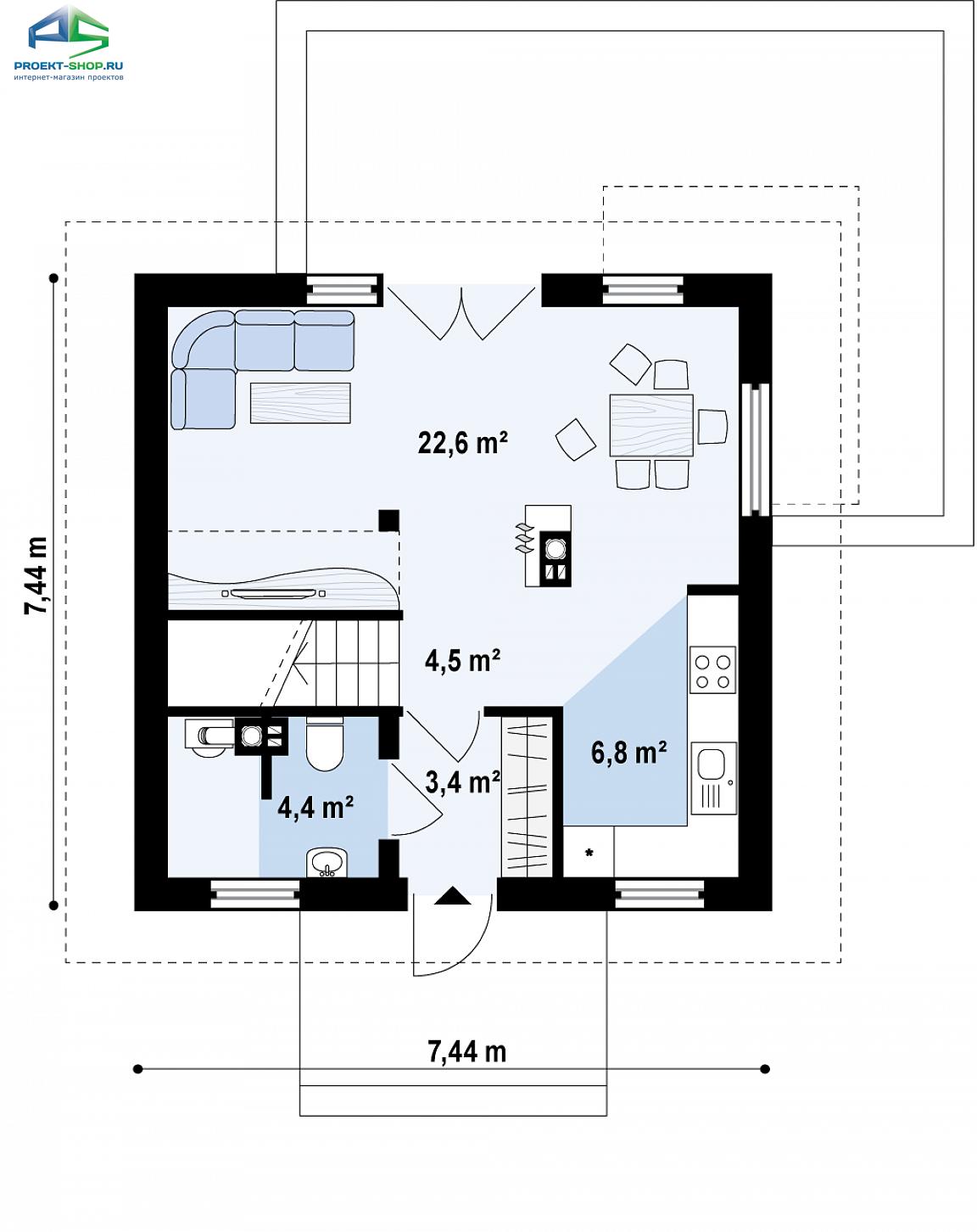 Планировка проекта z264